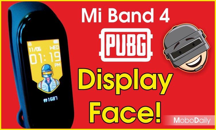 pubg watch face - mi band 4