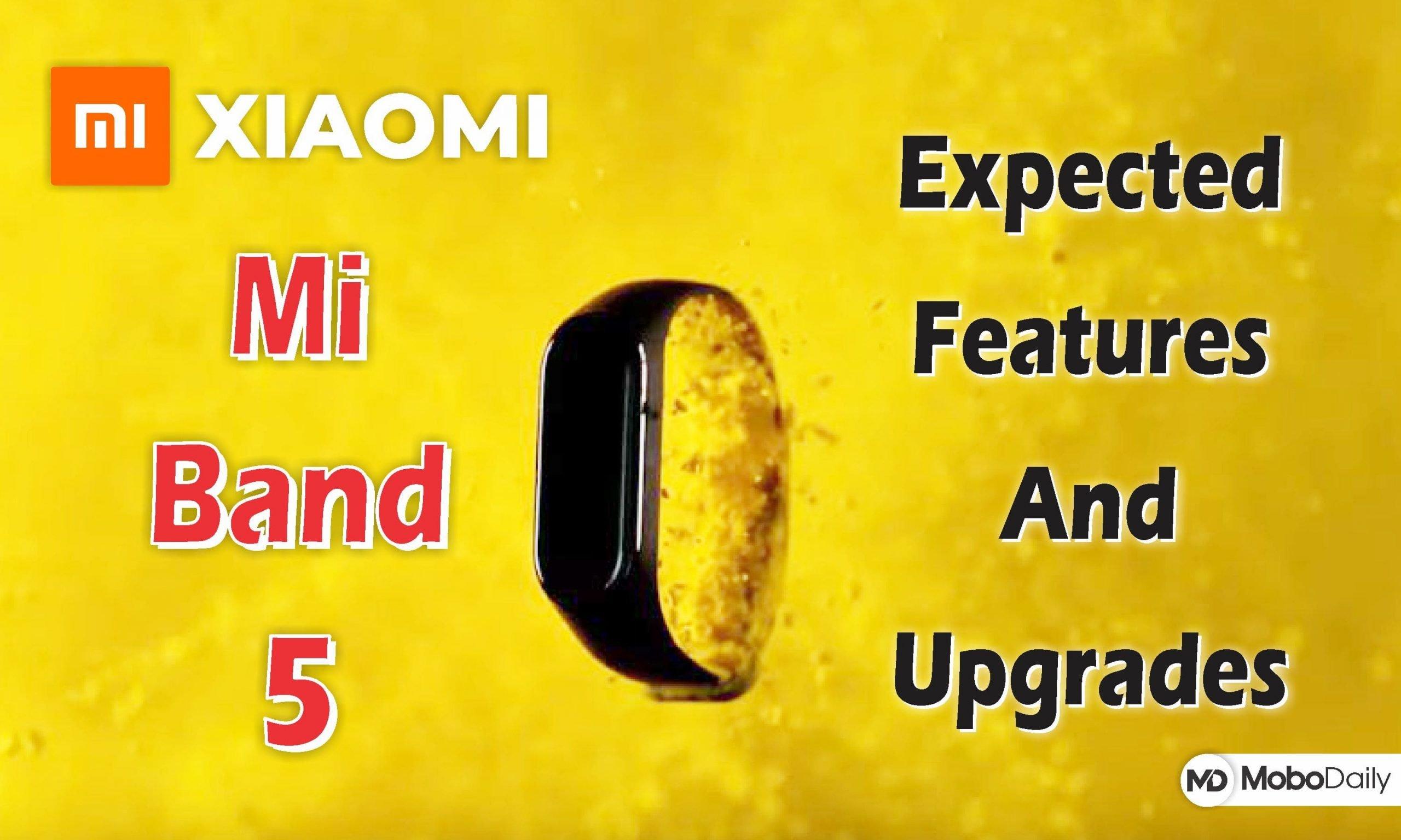 Xiaomi Mi Band 5 - MoboDaily