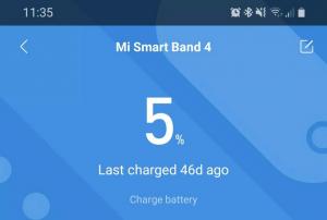mi band 4 battery life
