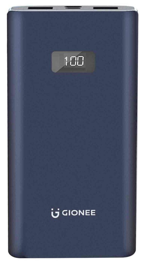 Gionee 10000mAh Li-Polymer Digital Display Power Bank