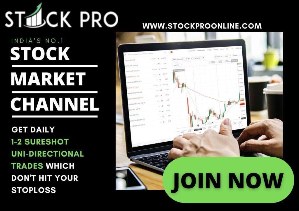 Stock Pro Official Telegram Channel