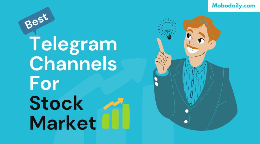 Best Telegram Channels For Stock Market